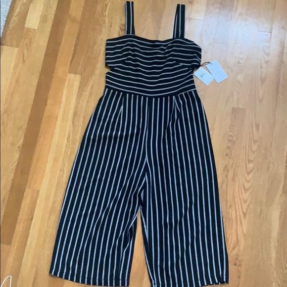 4ba462b0131 Black Striped Jumpsuit